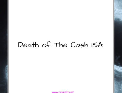Death Of The Cash ISA