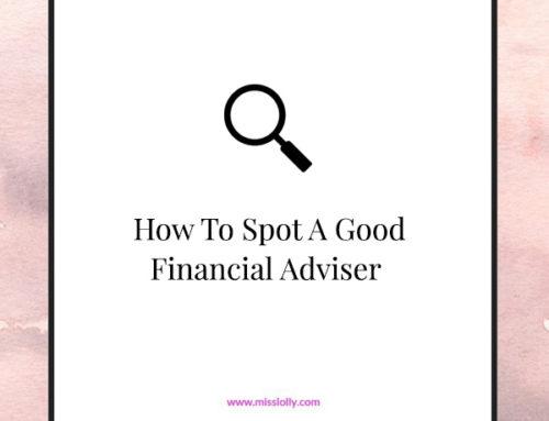 How To Spot A Good Financial  Adviser
